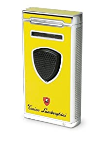 Tonino Lamborghini Pergusa Yellow Torch Flame Lighter