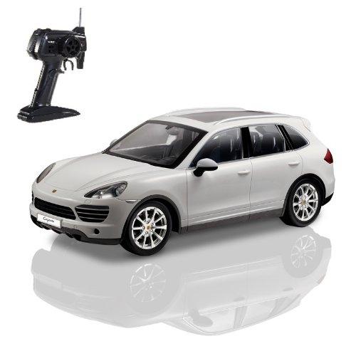 Porsche Cayenne - RC ferngesteuertes Lizenz-Fahrzeug im Original-Design, Modell-Maßstab 1:14, Ready-to-Drive, Auto inkl. Fernsteuerung und Batterien, Neu