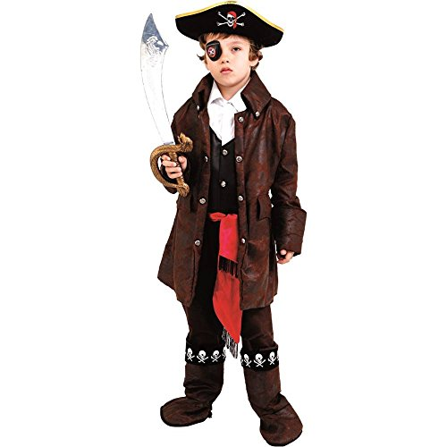 Caribbean Pirate Boy Kids Costume