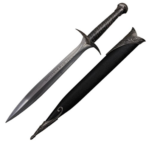 "26"" A Hobbit Like Crusader Medieval Crusader Steel Sword Dagger of The Sting Sword of Frodo Bilbo Baggins with Sheath"