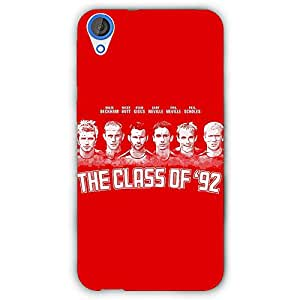 EYP Manchester United Giggs Beckham Scholes Back Cover Case for HTC Desire 820 Dual Sim