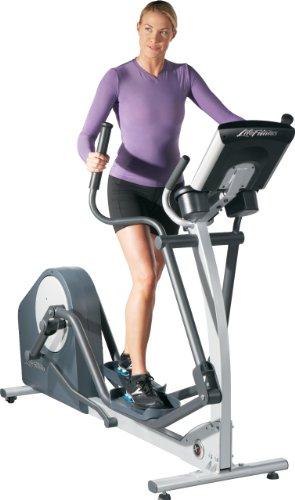 Life Fitness Crosstrainer E1 Go, Schwarz, E1-XX03-0105 GC-020X-0105