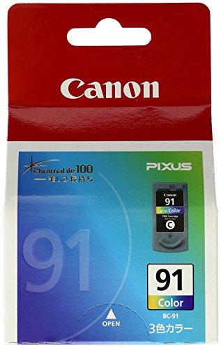 Canon キヤノン 純正 インクカートリッジ BC-91 3色カラー BC-91
