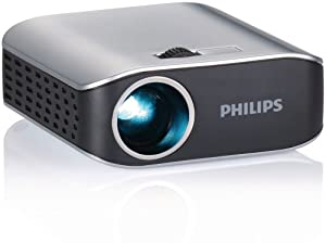 Philips PPX2055/F7 PicoPix Pocket Projector (Silver/Black)