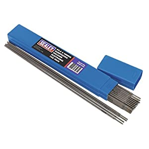 Sealey WEHF1025 Welding Electrodes Hardfacing, Dia 2.5 x 300 mm, 1 Kg