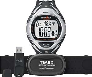 Timex - T5K571HE - Timex Ironman Race Trainer Kit - Montre Homme - Quartz Digital - Cadran Noir/Jaune - Bracelet Résine Noir