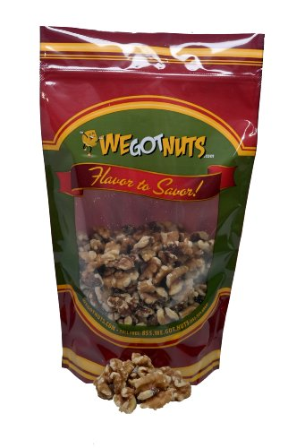 Two Pounds Of Walnuts ~ Light Halves & Pieces (No Shell) - We Got Nuts
