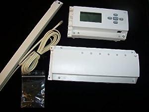 Elektronische Funkregeleinheit Typ WFHC40623/40524 (868MHz) für Fußbodenheizung   Überprüfung und Beschreibung