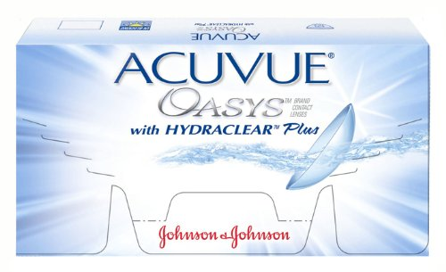 Acuvue Oasys Contact Lenses (6 lenses/box - 1 box)