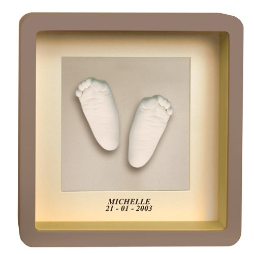 Baby Art Window Sculpture Frame (Taupe)