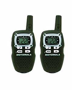 Motorola TalkAbout MB140R 10-Mile 22-Channel FRS/GMRS Two-Way Radio