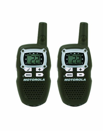 Motorola MB160CR TalkAbout 10-Mile 22-Channel FRS/GMRS Two-Way Radio