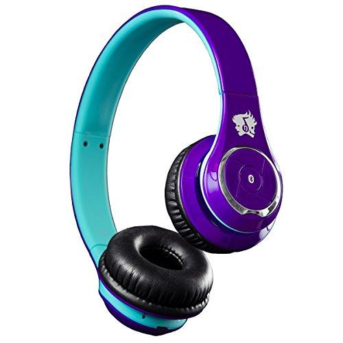Life N Soul Bn301-Pbu Bluetooth Headphones Purple & Blue