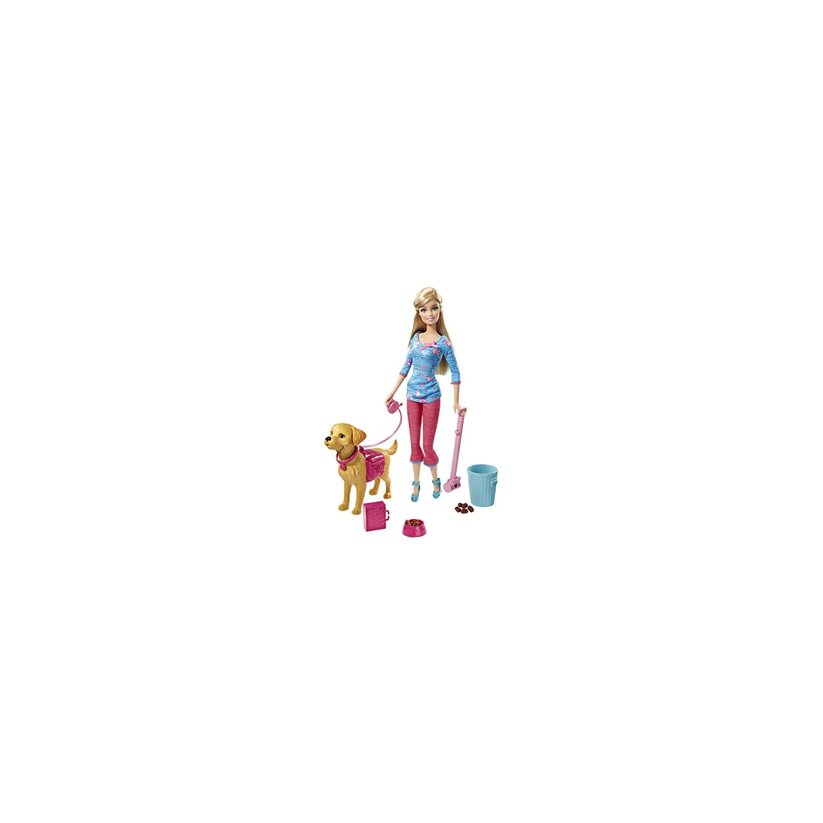 Barbie Potty Training Taffy Barbie Doll and Pet Review