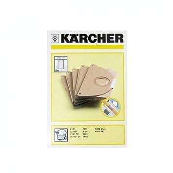 Kãrcher 6904 167 Sachet Filtre Papier Paquet De 5 Pour