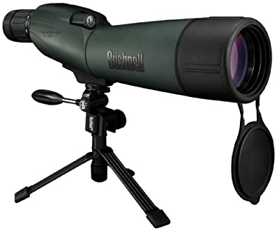 Bushnell Trophy XLT 20-60x 65mm Waterproof Compact Tripod Spotting Scope with Hard and Soft Cases by Bushnell