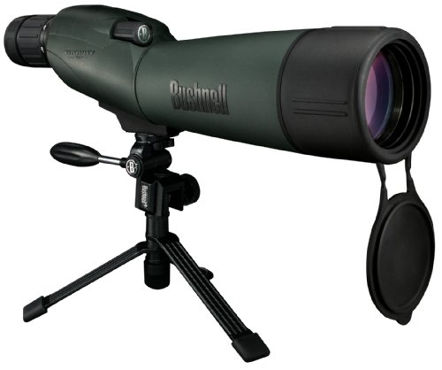 Great Deal! Bushnell Trophy XLT 20-60x 65mm Waterproof Compact Tripod Spotting Scope with Hard and Soft Cases