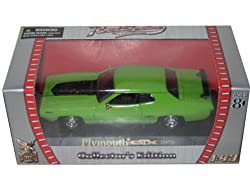 1971 Plymouth GTX 440 6 Pack Green 1/43 Diecast Car