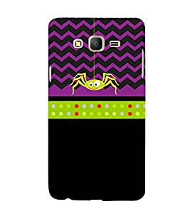 Clipart Spider 3D Hard Polycarbonate Designer Back Case Cover for Samsung Galaxy On5 Pro :: Samsung Galaxy ON 5 Pro