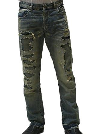 PRPS Goods & Co. Light Vintage Distressed Jeans (32)
