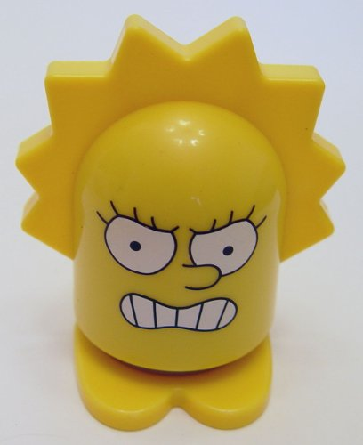 2013 Burger King Simpson Super Heroes Lisa Clobber Girl - 1