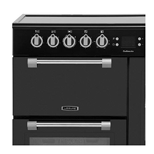 Leisure CK100C210K Cookmaster 100cm Electric Range Cooker Black