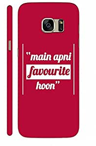 KALAKAAR Printed Back Cover for Samsung Galaxy S7,Hard,HD Matte Quality,Lifetime Print Warrenty