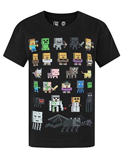 Ragazzi - Minecraft - Minecraft - T-Shirt (7-8 Anni)