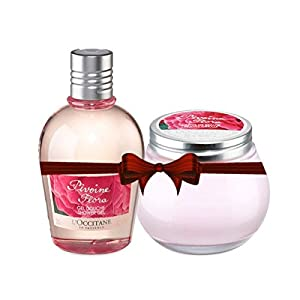 Loccitane Pivoine FL Shower Gel and Beauty Cream Combo Pack