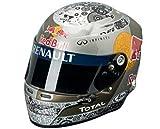 Red Bull F1 Team S.ベッテル1/2ミニチュアヘルメット(2010年モデル)「訳あり特価」