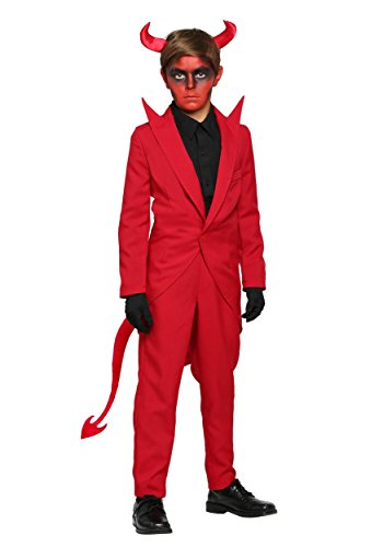 Fun Costumes boys Child Red Suit Devil Costume Large (12-14) (Red Devil Clothing compare prices)
