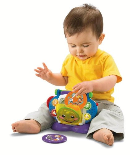 Fisher-Price Laugh & Learn Sing-With-Me Cd Player front-493183