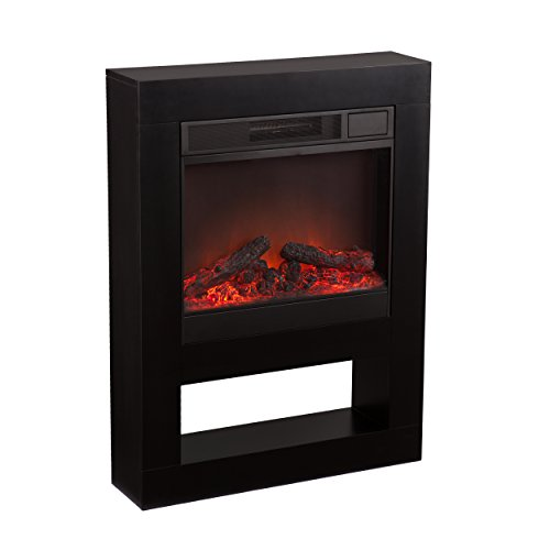 Holly And Martin Mofta Electric Fireplace, Black
