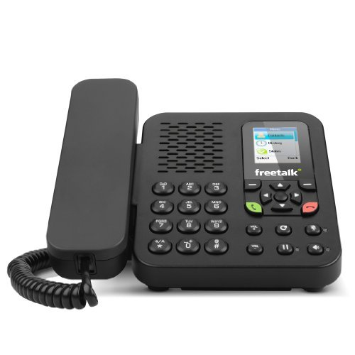 FreeTalk Talk-3000 Office Phone Desktop Internet Phone for Skype