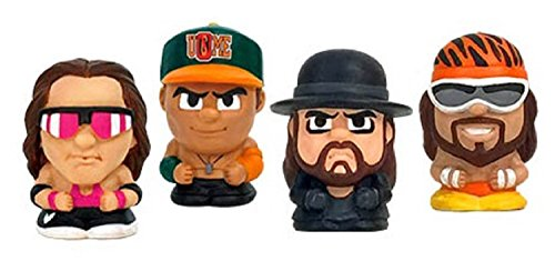 Party Animal Teenymates WWE Series 1 Mini Figure (6 Pack)