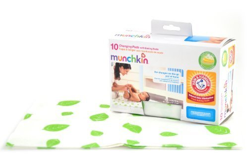 Munchkin Arm & Hammer Disposable Changing Pad - 10 Pack (Pack Of 2) front-897787