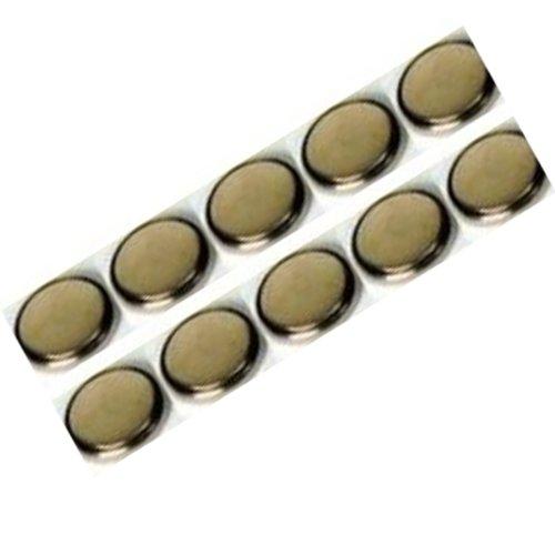 10 x Piles CR2032 Lithium Piles Bouton 3v
