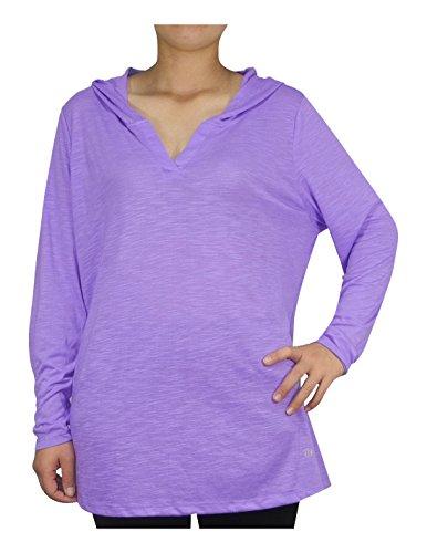 plus-size-womens-bally-total-fitness-lightweight-yoga-hoodie-sweatshirt-purple-2x-2x-purple