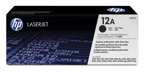 Q2612A HP 12A Print Cartridge in Retail Packaging Laser Toner Cartridge, 2,000 Pages (Black)