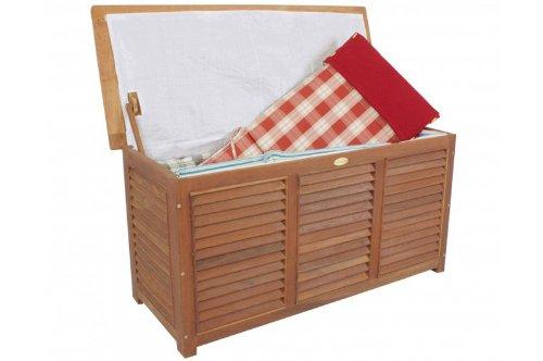 Kissenbox aus Eukalyptus inkl. Folieninnentasche, 125x62x52cm, günstig kaufen