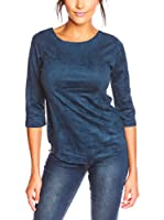 La Belle Francaise Camiseta Manga Larga Noa (Azul Oscuro)