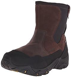 Merrell Men\'s Polarand Rove Zip Waterproof Boot, Espresso, 7 M US