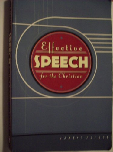 Effective Speech for the Christian, Lonnie Polson