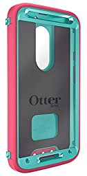 OtterBox Defender Case for Moto X 2nd Gen. - Retail Packaging - Teal Rose II