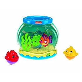 Fisher-Price Ocean Wonders Musical Fishbowl