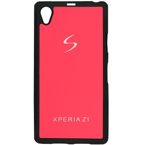 Casotec TPU Back Case Cover for Sony Xperia Z1 - Pink  available at amazon for Rs.119