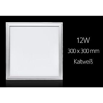 10X 12W Ultraslim LED Panel Deckenleuchte Deckenlampe Einbauleuchte Farbwechsel