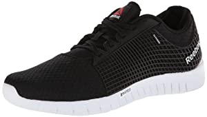Reebok Men's ZQuick Running Shoe,Black/Pure Silver/White,9 M US
