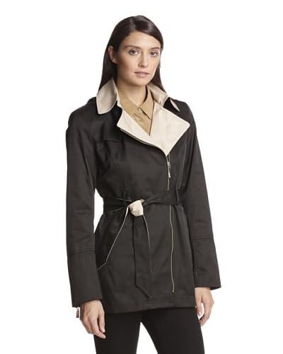 Vince Camuto Women's Zip-Up Trench Coat