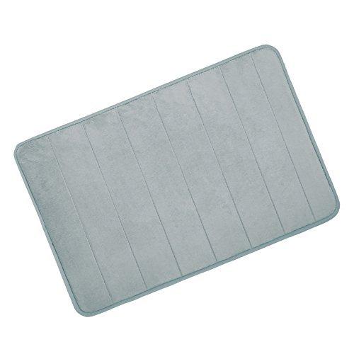 hompo-bath-mat-memory-foam-bathroom-shower-mat-non-slip-mat-and-safety-for-child4060cmgray